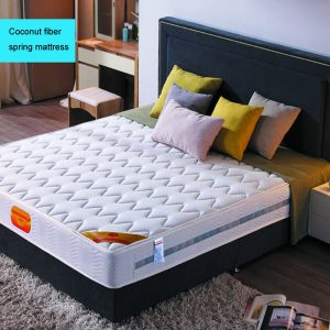 Natural coconut fiber spring mattress
