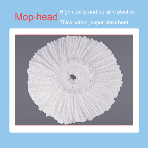 Spin mop heads pack(Pack of 3)