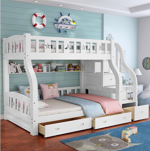 ladder cabinet bunk bed