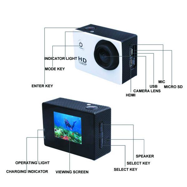 waterproof Sport Camera