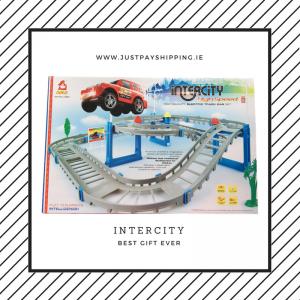 Intercity high speed electric track car set