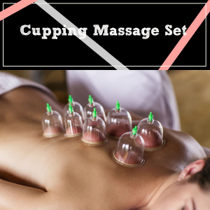 Cupping Massage Therapy Set with Vacuum Pump