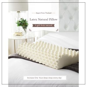 100% Pure Natural Latex Pillow