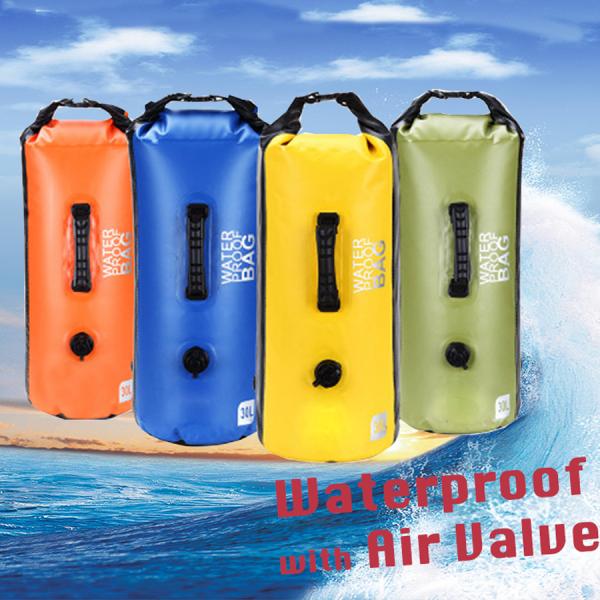 30L waterproof bag with air valve