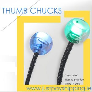 Thumb Chucks Fidget Begleri Knuckles Yoyo Toy *2