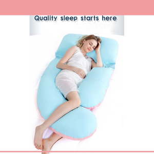 U-shaped Maternity Pregnancy Pillow
