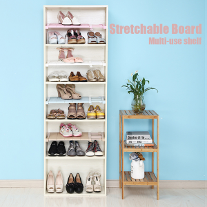 Stretchable Shelf for Wardrobe / Kitchen Storage