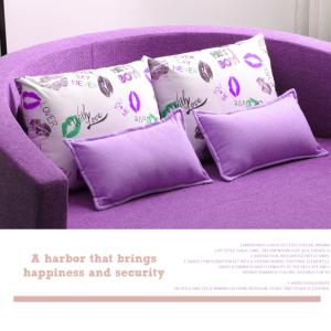 2-Seat Round Sofa Bed