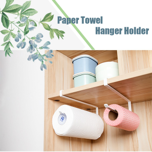 Kitchen Towel Holder For Cupboards/Cabinet