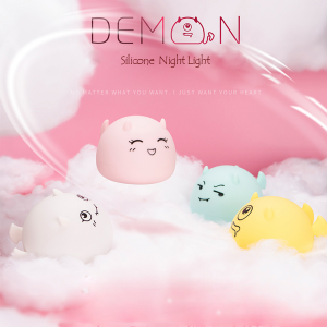 Silicone Night Light of Little Monster