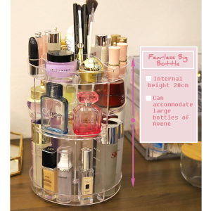 Rotating Cosmetic Storage Box Large Size