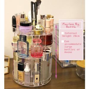 Rotating Cosmetic Storage Box Large Size