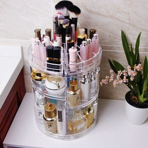 Luxury Spinning Costemic Storage Organizer