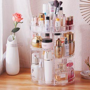 Luxury Spinning Rotating Cosmetic Storage Organiser