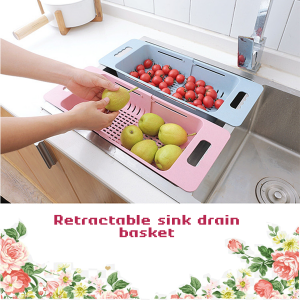 Adjustable Flat Colander / Dish Drainer