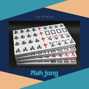 Mahjong Large Size in Standard Colours