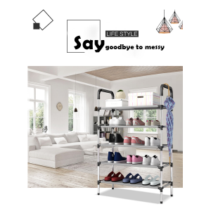 Easy Installation Shoe Rack in Different Layers