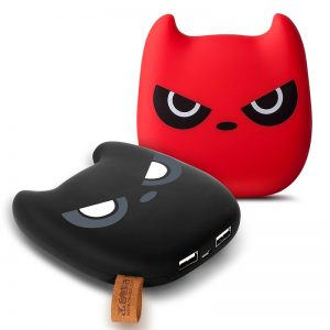 Devil Expression Design Portable 10000mAh Power Bank