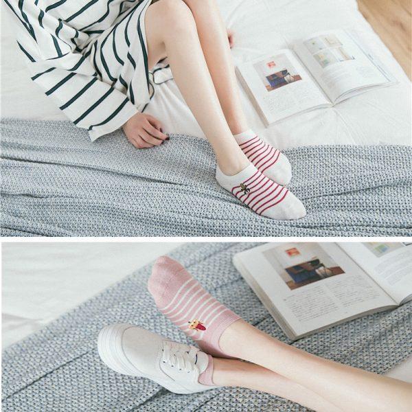 lowcut sock
