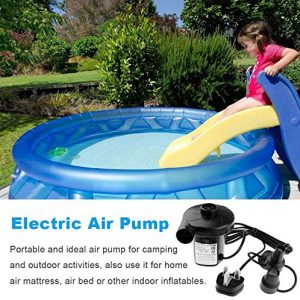 Electric Air Pump for Airbed, Mattress & Toys