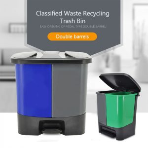 Classified Waste Recycling Trash Bin 20L/40L for Indoor Use