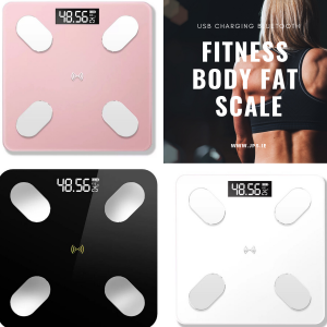 Bluetooth Fitness Smart Body Fat & Weight Scale