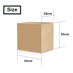 Cardboard Boxes Double Wall (Pack of 5) – Small 44*35*28cm