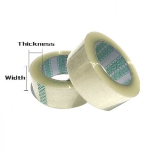 Clear Packing Tape Strong Adhesive (Pack of 3)