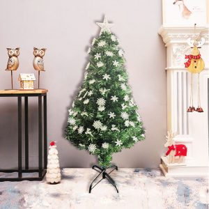 Prelit Christmas Tree Artificial Green with LED