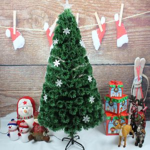 Prelit Christmas Tree Artificial Green with LED 90cm