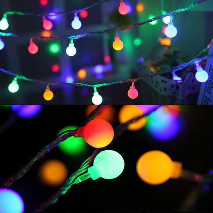 lightbulb shape christmas LED light