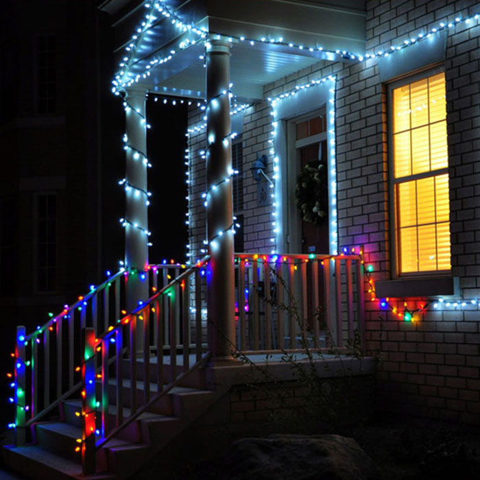 outdoor LED light Christmas decoration effect2
