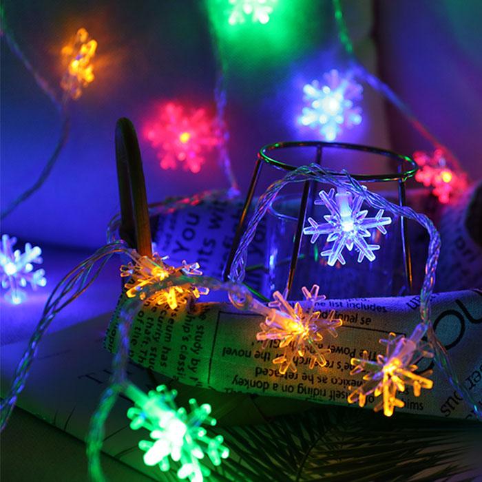 snowflake christmas led light