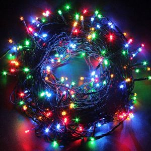 Outdoor String LED Lights Bright Colour 10 Meters