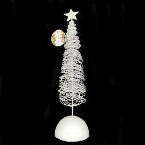 White light Christmas tree decoration