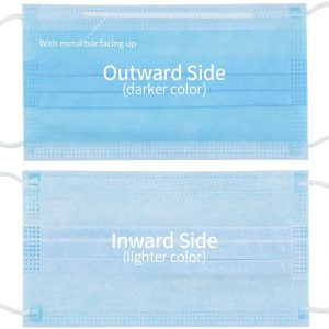 3 Ply Earloop Disposable Medical Face Mask with CE Certificate