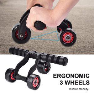 3 Wheel Fitness Ab Roller