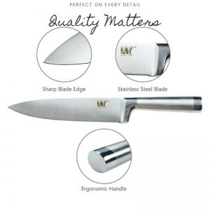 Stainless Steel Kitchen Knife Set of 6