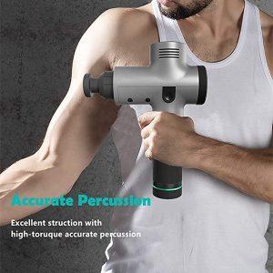 Portable Handheld Percussion Electric Body Massager,Fascia Massage Gun