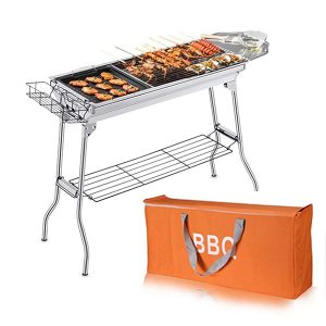 Foldable Outdoor Charcoal BBQ Grills