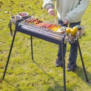 Outdoor Charcoal BBQ Grills