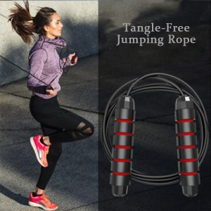 Adjustable Tangle-Free Jumping Rope with Foam Handles, Skipping Rope