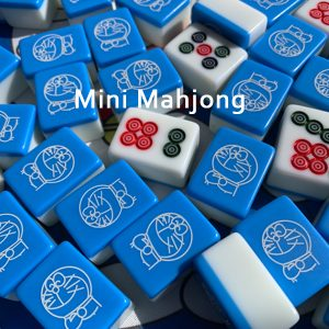 Portable Mini Mahjong Set