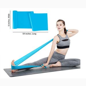 Resistance Bands for Physiotherapy, Strength Training & Fitness Workouts