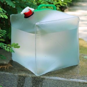 20L Foldable Water Bag Portable Transparent Water Container Durable Large Capacity for Outdoor