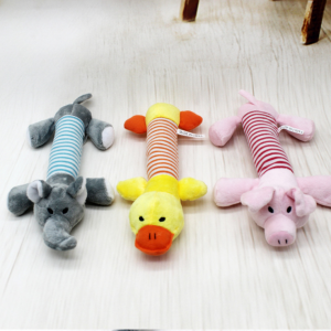 Dog Squeaky Toy Cute Duck/Pig Shape