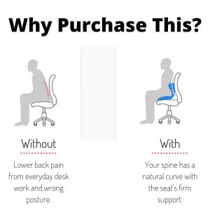 Posture Correction Seat Ergonomic Design