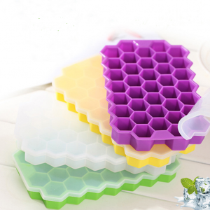 Silicone Ice Tray with Lid