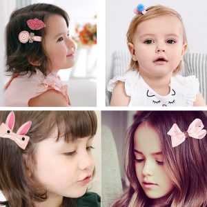Cute Baby Girl's Hair Accessories Set 18Pcs