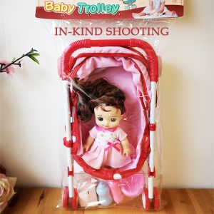 Foldable Baby-Doll-Stroller for Toddlers and Little Girls